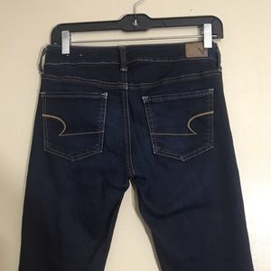 dark wash american eagle skinny jeans!